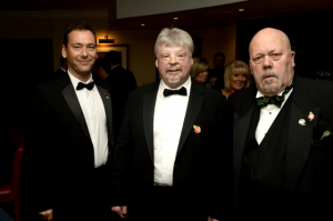 Simon Weston OBE with WAPI Chairman John Edwards and GC Member John Withers